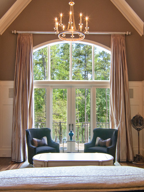 Arched windows curtains home design ideas pictures for Picture window ideas
