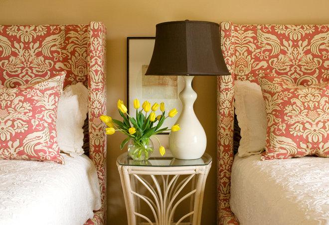 Eclectic Bedroom by Tobi Fairley Interior Design