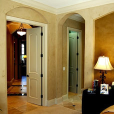 Mediterranean Bedroom by Speir Faux Finishes, Inc.