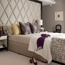 Transitional Bedroom by Taylor Howes Designs