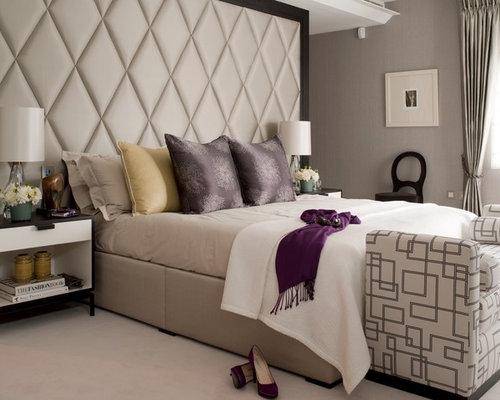 master bedroom headboards home design ideas pictures. Black Bedroom Furniture Sets. Home Design Ideas