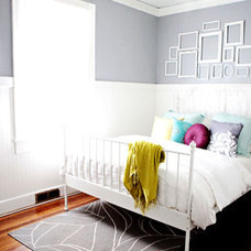 Contemporary Bedroom Landon Jacob home (as seen on Young House Love)