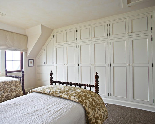 Built In Wall Closet Houzz