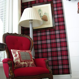 Large master bedroom - Wall upholstery