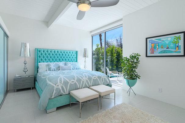 Contemporary Bedroom by H3K Design
