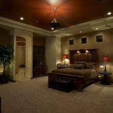 Mediterranean Bedroom by Allen Companies