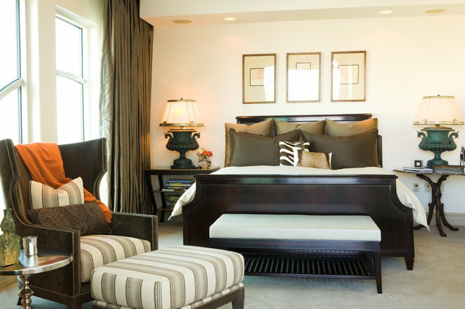 Traditional Bedroom by Michael Fullen Design Group