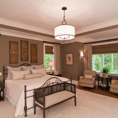 traditional bedroom by Carolina Design Associates, LLC