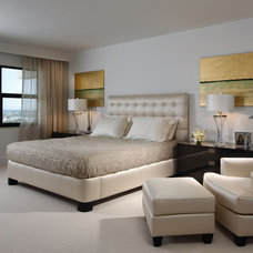 contemporary bedroom by Toby Zack Designs