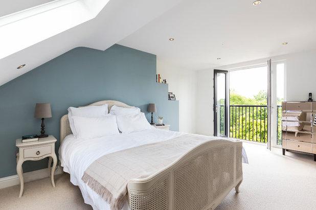 11 ideen wie sie im schlafzimmer farben kombinieren - Wandfarbe schlafzimmer beruhigend ...