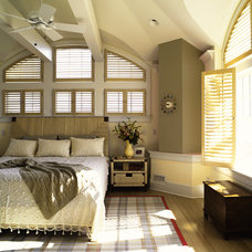 Contemporary Bedroom by Laura Mannes Design, LLC