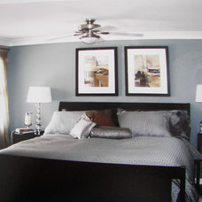 Contemporary Bedroom by laurie Battersby