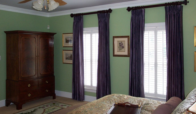 Traditional Bedroom by Ben Dial