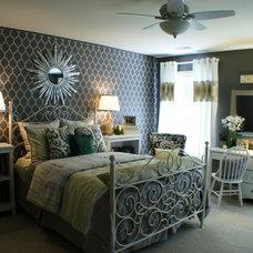 Transitional Bedroom by G&G Interior Design