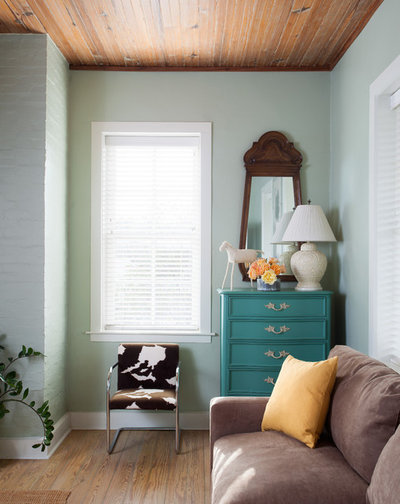 Farmhouse Bedroom by J.Fisher Interiors
