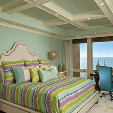 Tropical Bedroom by Randall Perry Photography