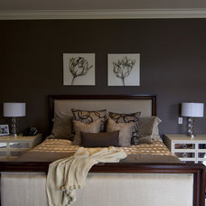 Contemporary Bedroom by Leanne Mosquite Interior Design