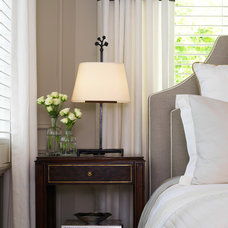 Traditional Bedroom by Laura Stein Interiors
