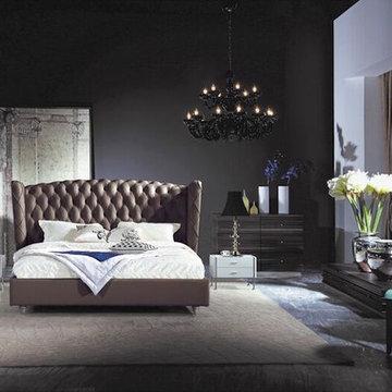 Leather Bedroom