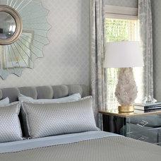 Traditional Bedroom by Tobi Fairley Interior Design