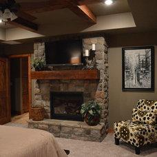 Traditional Bedroom Ledbetter House