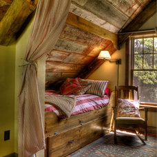 Rustic Bedroom by Lands End Development - Designers & Builders