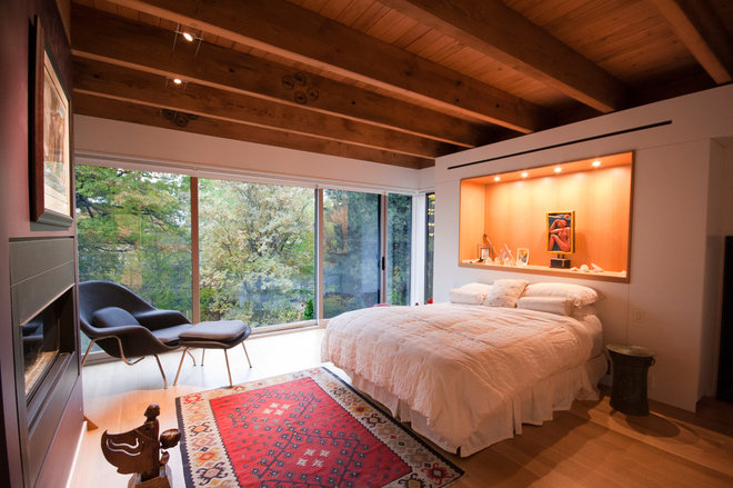 contemporary bedroom by South Park Design Build