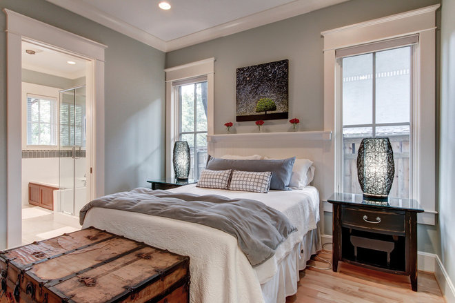 Contemporary Bedroom by William Johnson Architect
