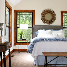 Rustic Bedroom by Refined Interior Staging Solutions