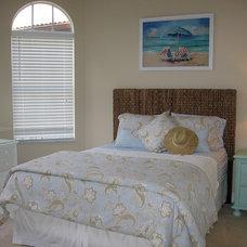 Beach Style Bedroom by MollyKate Design