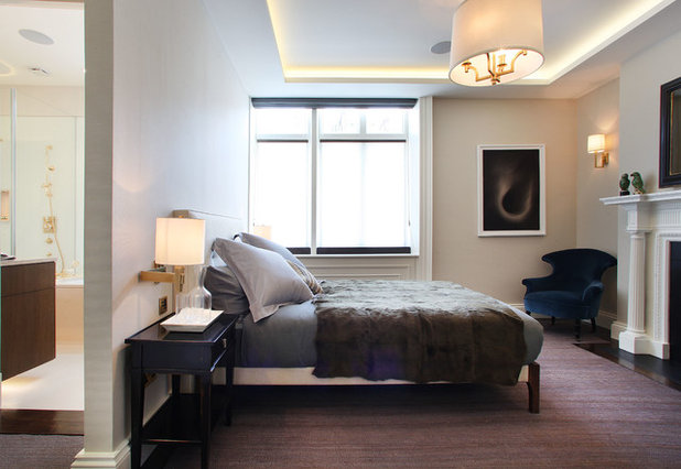 Contemporary Bedroom by Alex Maguire Photography