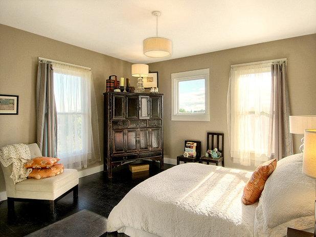 Eclectic Bedroom by Zinc Art + Interiors