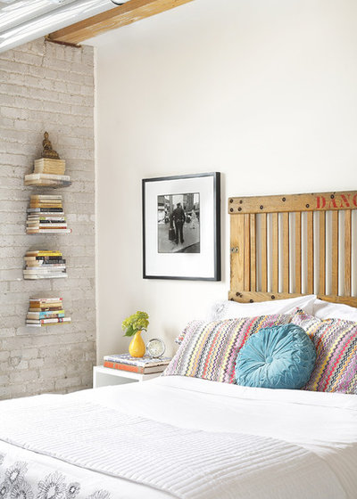 Industrial Bedroom by Aristea Rizakos Photography