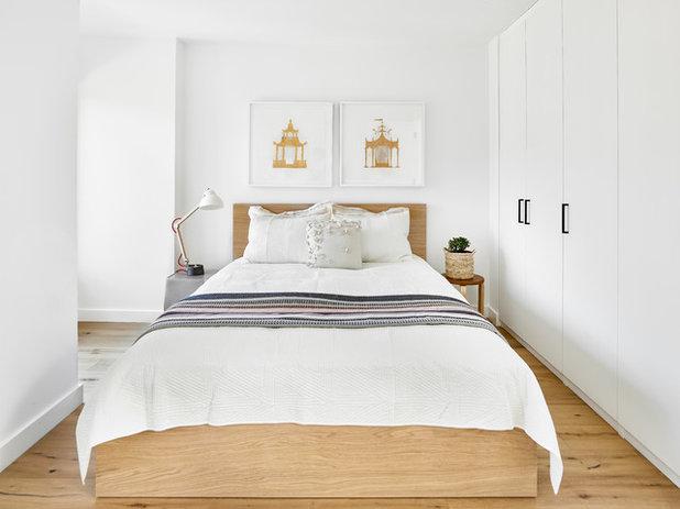 Contemporain Chambre by Neue Floors - European Wide Plank Oak
