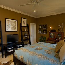 Traditional Bedroom by Lisa Stewart Design