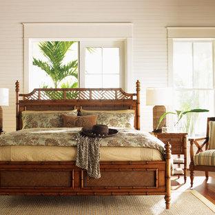 Idee per una camera matrimoniale tropicale