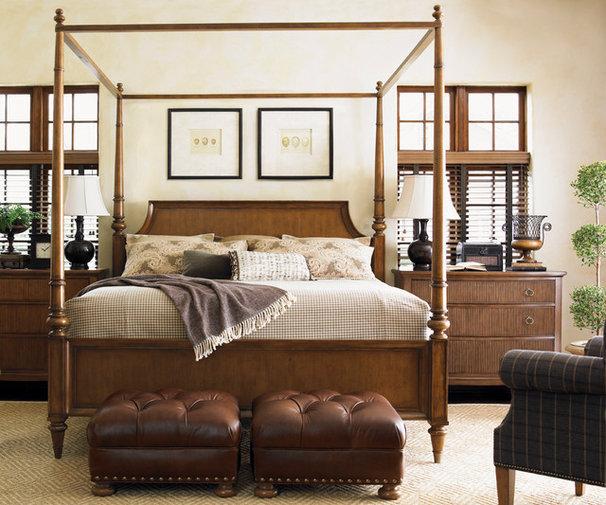 Traditional Bedroom by BARBARA SCHAVER DESIGNS