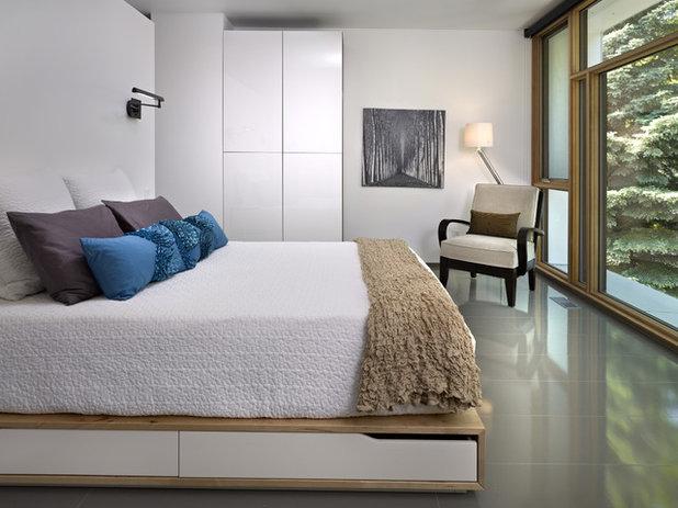 Soveværelse: 8 indbyggede opbevaringsløsninger til sengen