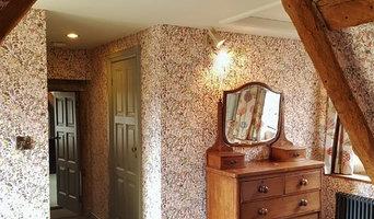 Liberty wallpaper Slad Stroud Gloucestershire