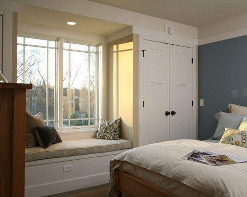 Bedroom Window Seat window seat closet | houzz