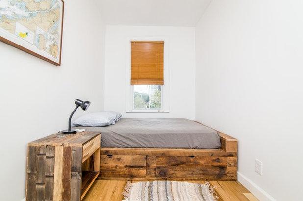 10 lits en bois r cup 39 pour une chambre pleine de caract re - Estrade en bois pour lit ...