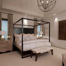 Contemporary Bedroom by Slovack-Bass