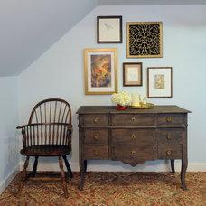 Traditional Bedroom by bossy color | Annie Elliott interior design