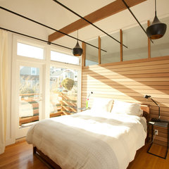 modern bedroom by Sven Lavine Architecture