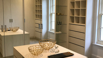 Light Grey Walk-in Closet