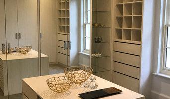 Light Grey Walk-in Closet