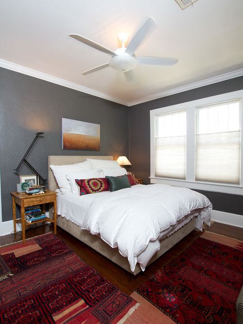 Benjamin moore kendall charcoal houzz for Charcoal grey bedroom