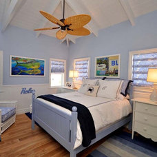 Tropical Bedroom by Lighthouse Interiors