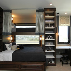 Contemporary Bedroom by Robeson Design