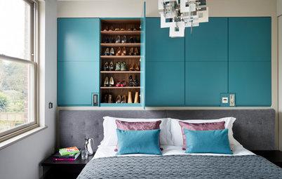 chambre d 39 enfant de la semaine une cabane mezzanine optimise l 39 espace. Black Bedroom Furniture Sets. Home Design Ideas